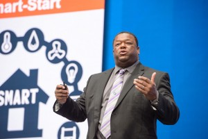 Gartner's Daryl Plummer announces Gartner's Top Predictions during Gartner Symposium/ITxpo in Orlando.