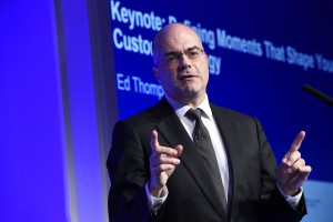 Ed Thompson, vice president and distinguished analyst at Gartner, kicks off the Gartner Customer Strategies & Technologies Summit 2016 in London.
